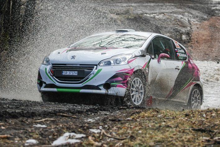 Peugeot 208 rally Dobšinská zima
